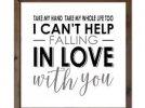 Can't help falling in love - Elvis Presley